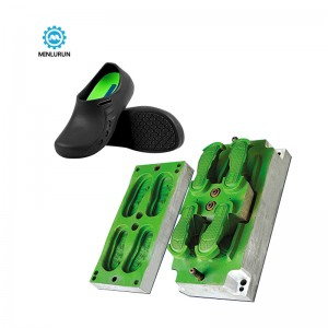 Fujian Factory Direct Sale Newest Eva One Time Injection Shoe Mould Customizable Shopping Casual Slippers Female