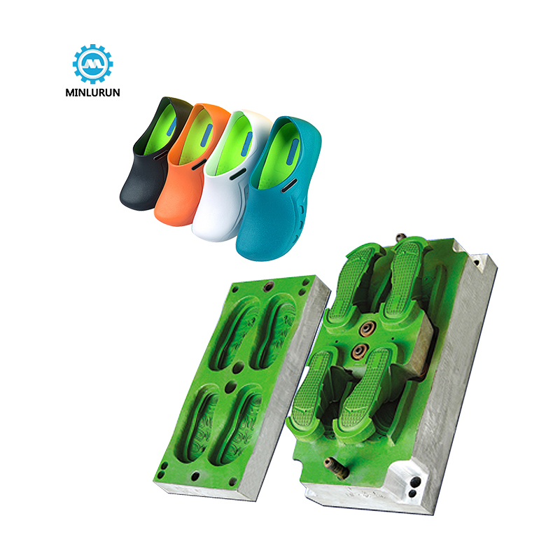Fujian Factory Direct Sale Newest Eva One Time Injection Shoe Mould Customizable Shopping Casual Slippers Female Featured Image