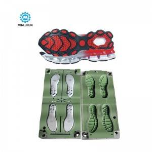 High Cushioning Fitness Running Shoes Eva Tpr Injection Sport Shoe Sole Mold
