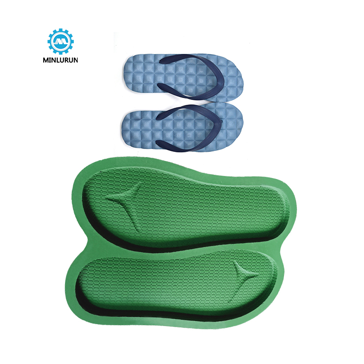 Slipper Embossing Insole Mold Aluminum Sole Mould For Summer Shoes