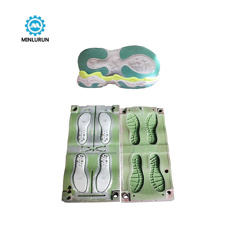 Yingrun Factory EVA Outsole TPR bottom Injection Mold With Double Color EVA Sole Mould