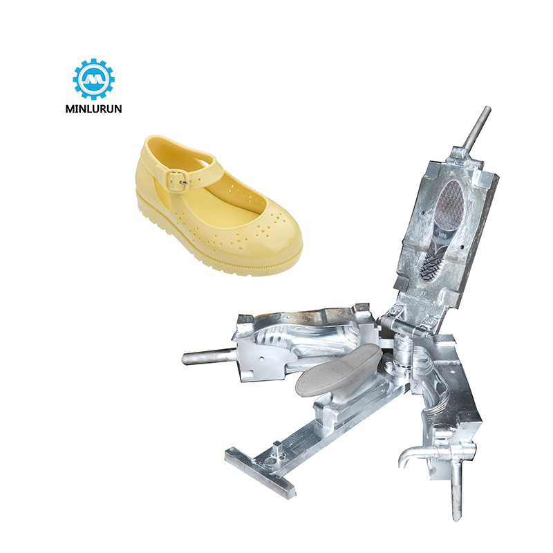 PVC Injection Molding Machine For Crystal Shoes Second Hand Used Jelly Shoe Molding Die New Design