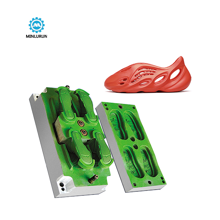 Outdoor Garden Shoes Mold Aluminium Eva Injection Shoe Mould Factory Making Jinjiang