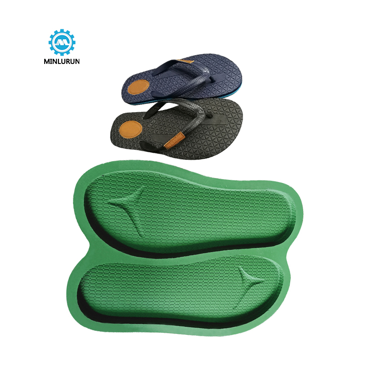 Slipper Embossing Insole Mold 2 Color Sole Mould For Summer Shoes