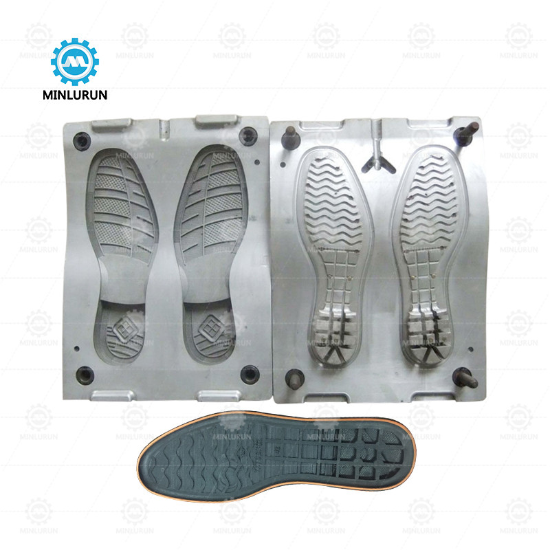 Flat Sole Mold Foaming Outsole Moulding For Canvas Shoes Making