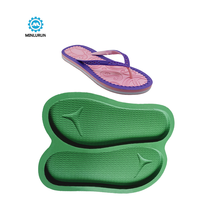 Slipper Embossing Insole Mold Foam Sole Mould For Summer Shoes