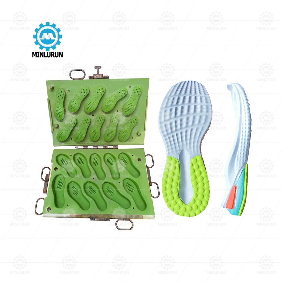 EVA hot and cold sole mould Good Price Outsole Moulded Shoes For Turkish Machine sport sandal outsole making