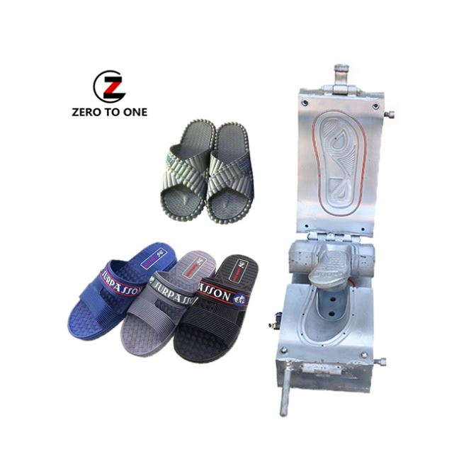 Second Hand Injection PCU Air Blowing Beach Walking Shoe Mold