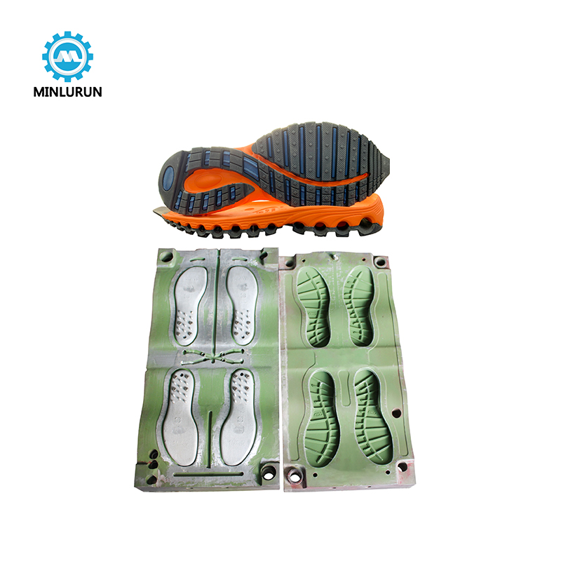 China EVA Single Color Outsole Making Injection Mold TPU Sport Shoe Sole Mould