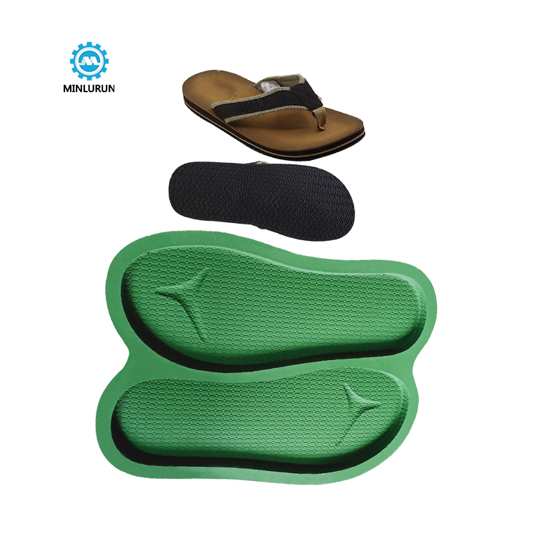 Slipper Embossing Insole Mold Airlet Men Footwear Eva Sole For Summer Shoes
