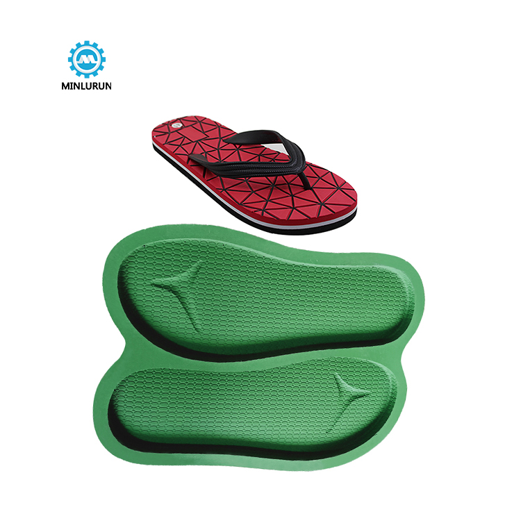 Slipper Embossing Insole Mold High Quality Aluminum Outsole Mould For Summer Shoes