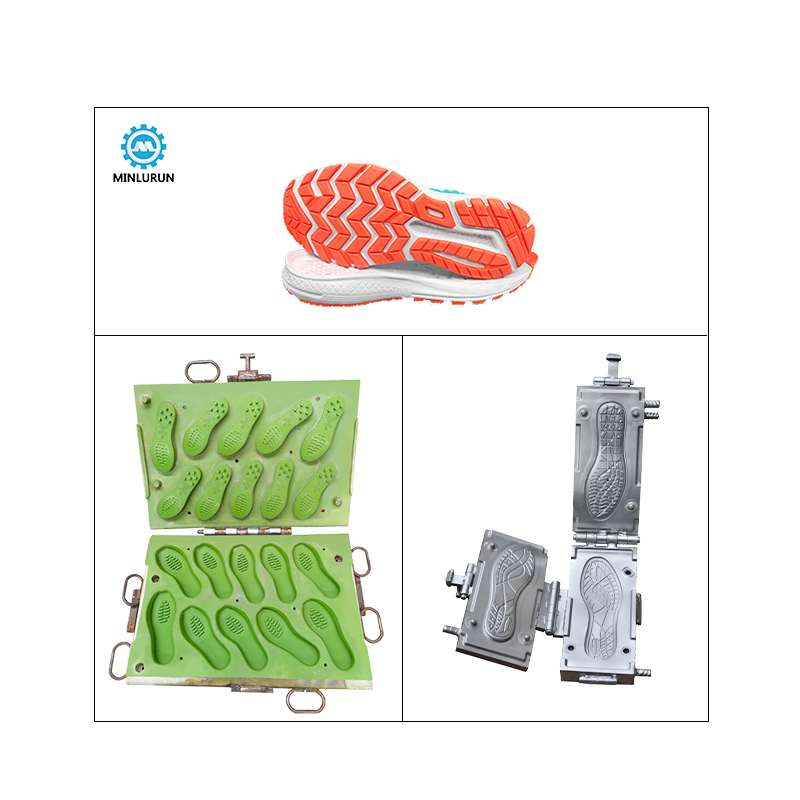 Hot Selling Sport Upper Eva Tpr Sole Mould Custom Strap Shoe Soles Mold Two Color Die For Casual