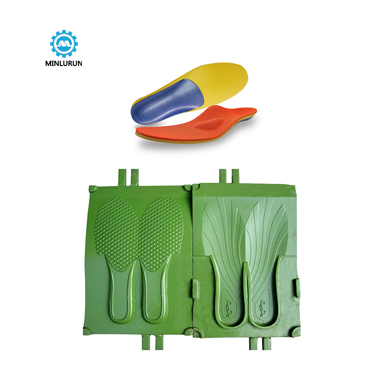 Eva Sheet Insole Mould Jieyang With Film Injected Shoes Mold Die For Footwear