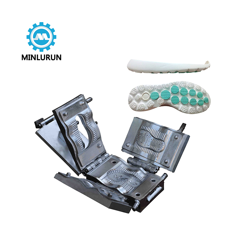 Manufacturer Direct Sale High Quality Aluminium Injection Mold  Made For Tpr Sport Shoe Outsole