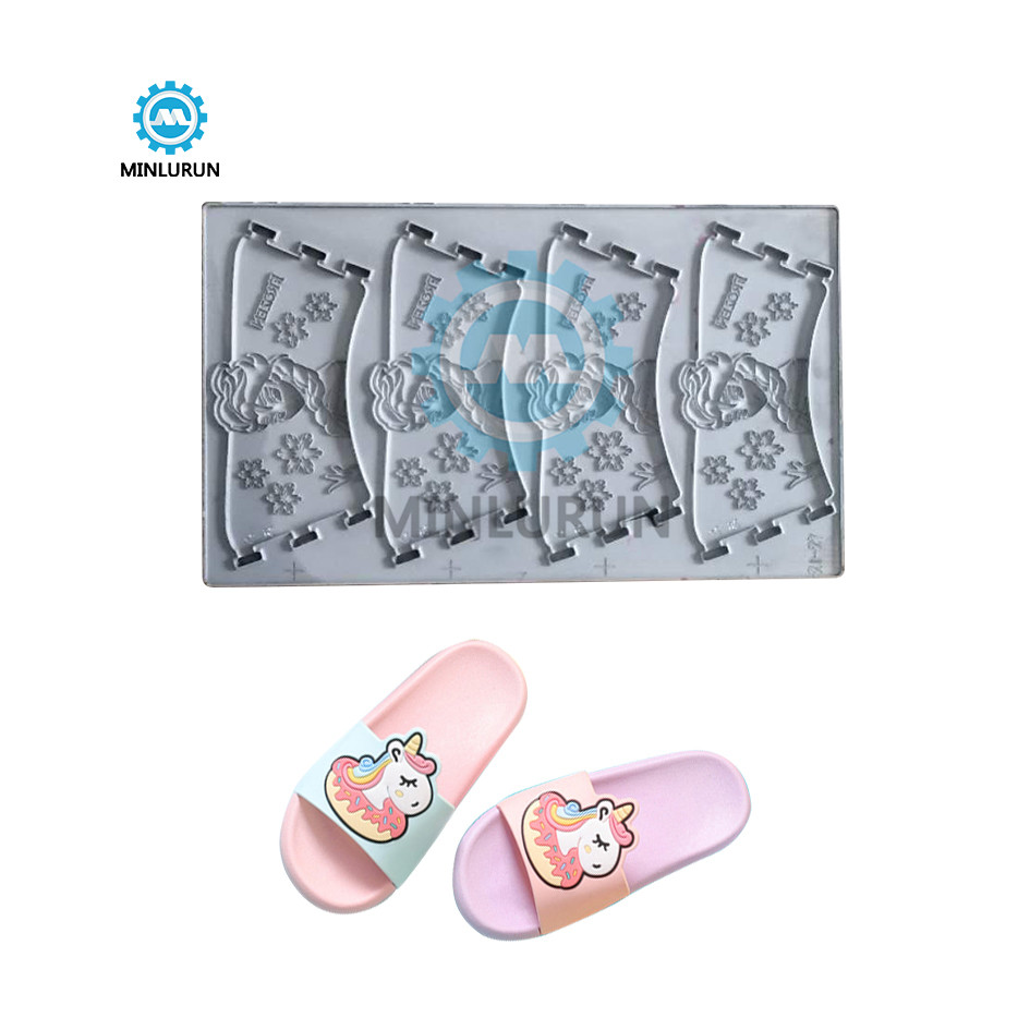 Fashion Design High Quality Pvc Silicon Upper Of Slipper Shoes Strap Mould Sandal Die Maker For Kids