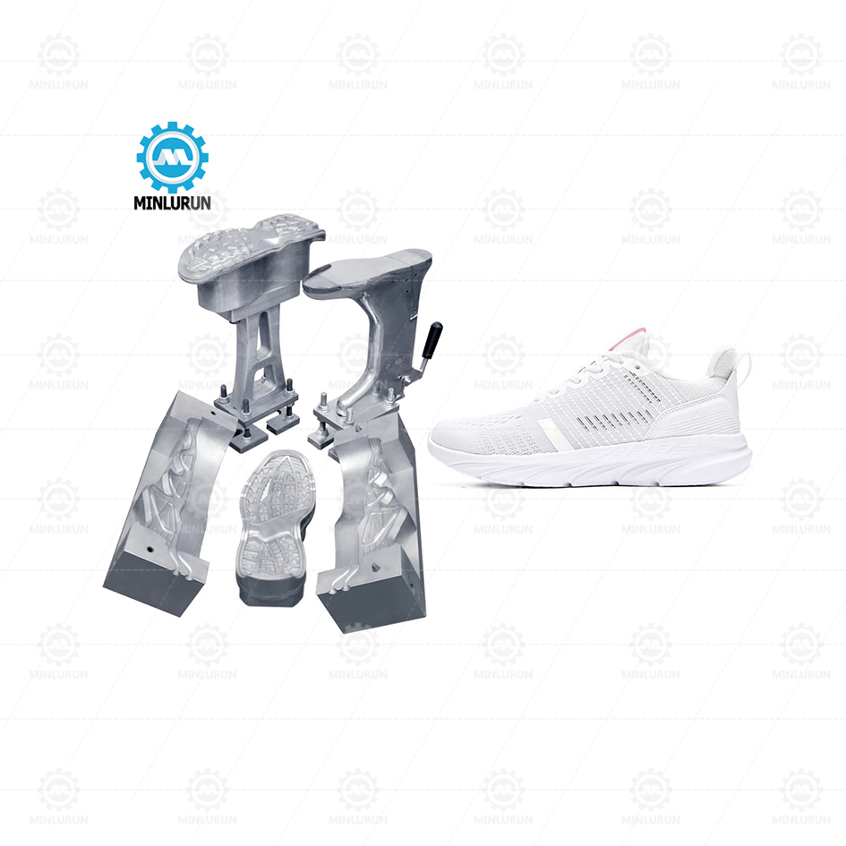 New Design Pu Dip Footwear Mold Aluminium Shoe Mould Price With High Quality
