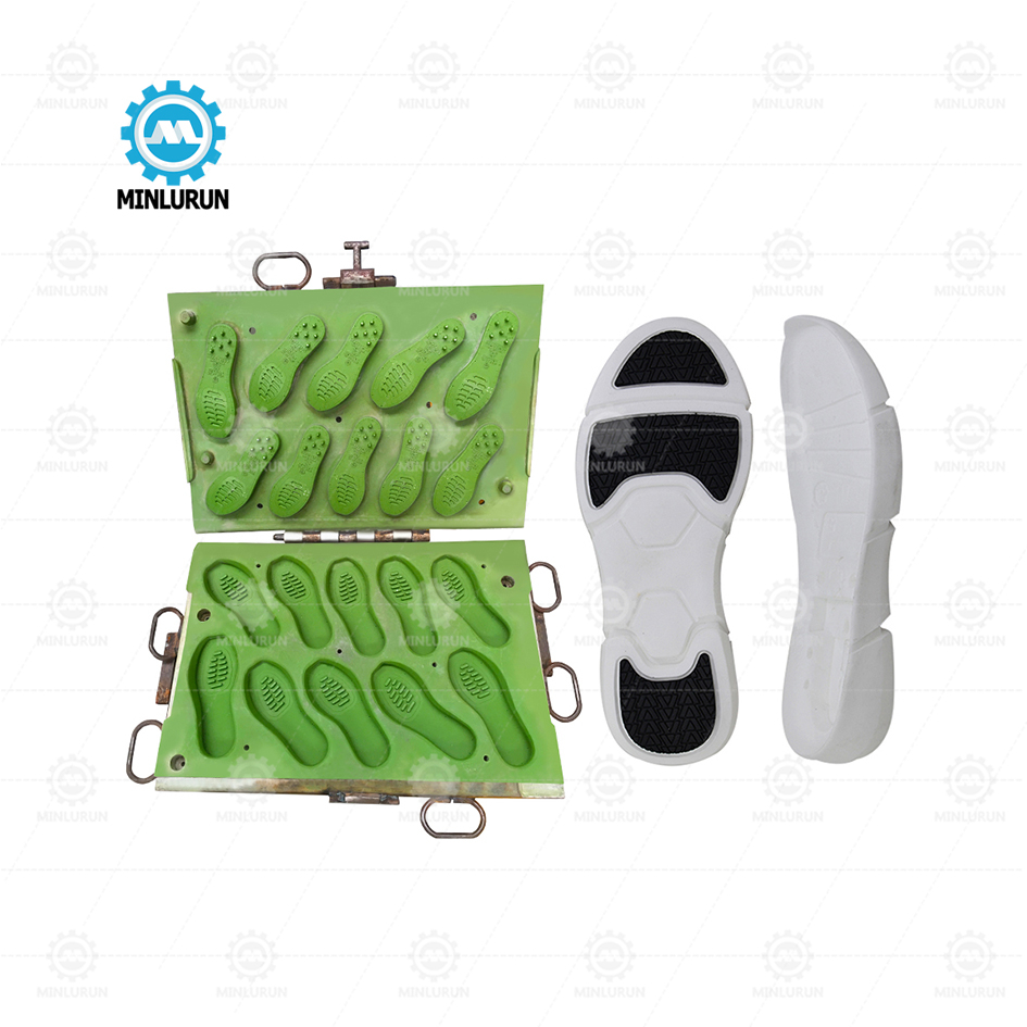 OEM/ODM China Italy Type Single Color Sole Mould - EVA hot and cold sole mould Good Selling Cheap Price Sole Mould For Pakistan Machine sport sandal outsole making – Yingrun