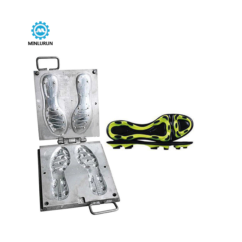Fashion Man Durable Tpu Injection Mold For Making Football Shoe Sole For Long Distance Running