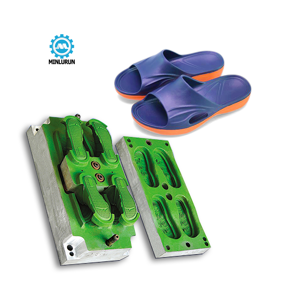 Dourble color EVA Sporty Slipper Mold OEM ODM  Crocss Design Sandal Mould For 2020 Newest Nikee  Slippers Making