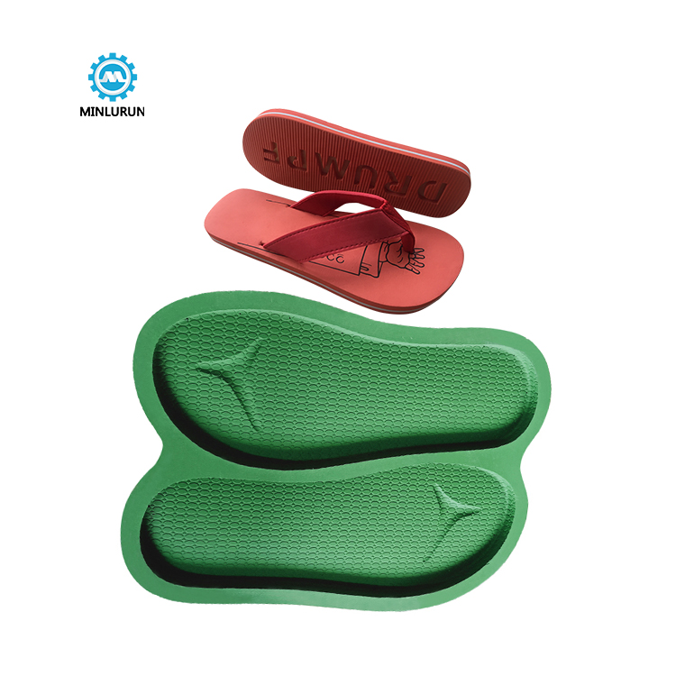 Slipper Embossing Insole Mold Aluminium Die Casting Sole Mould For Summer Shoes