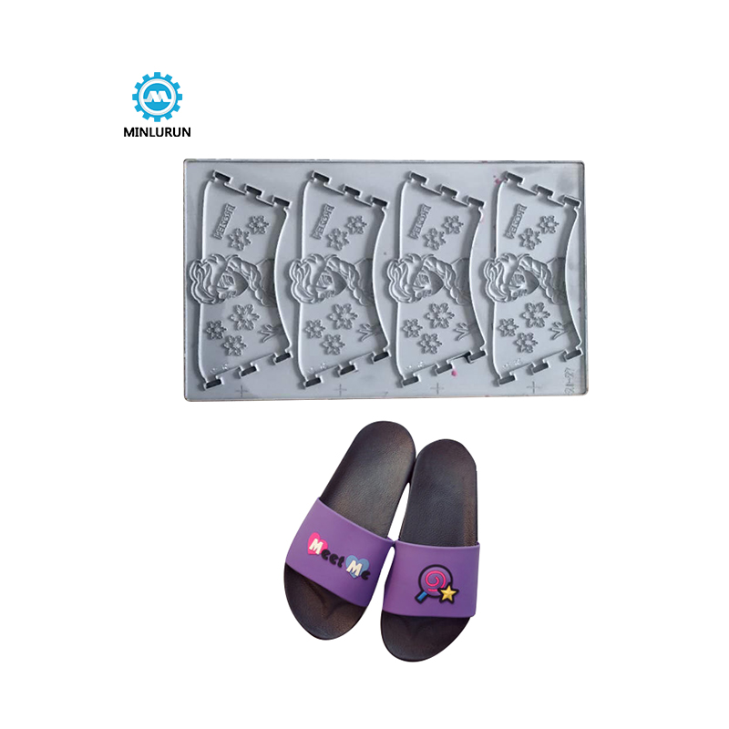 Chinese Professional Upper Press Mould – Jingjiang Wholesale Double-Color Pvc Slipper Siilicon Upper Mold For Women Stylishi Travelling Flip Flop Vamp Mould – Yingrun