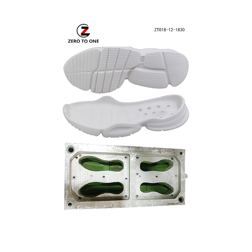 Custom Service Eva Outsole Mould Manufacturers Shoe Sole Injection Mold Wholesale For Footwear Die Making