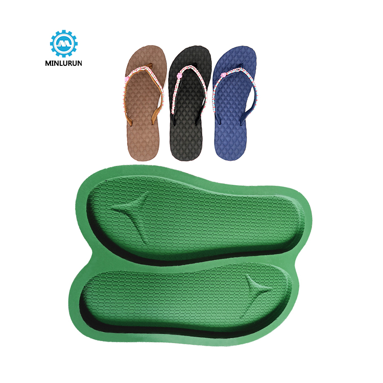 Slipper Embossing Insole Mold Aluminum Sole Mould For Shoe Making Summer Shoes