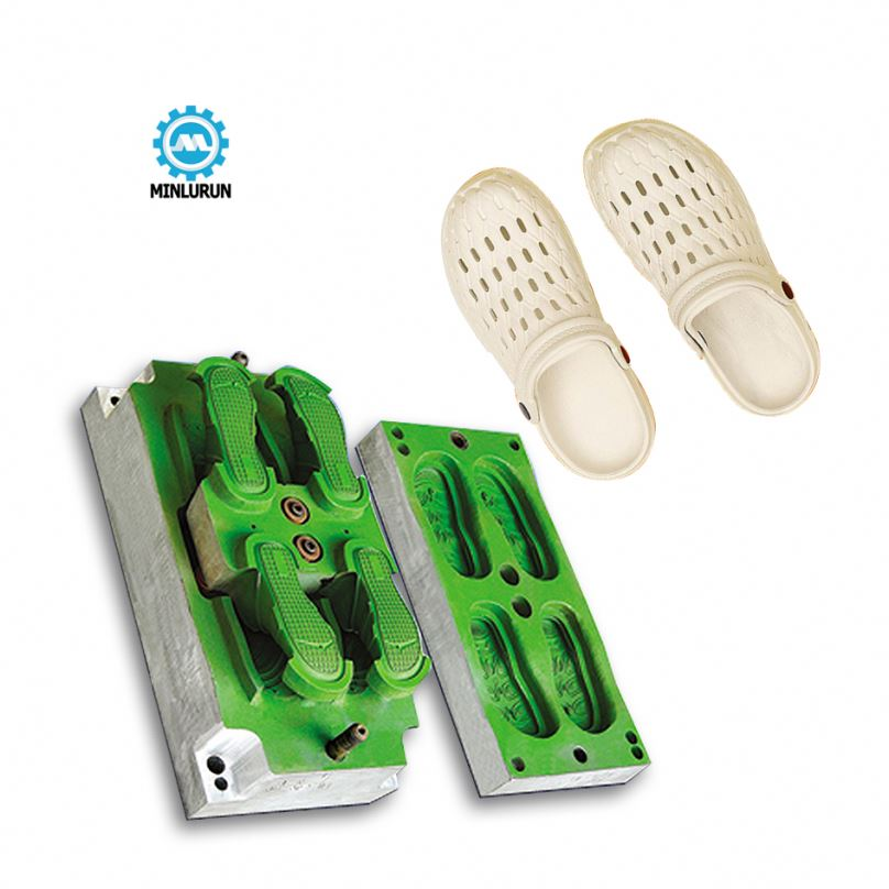 Minlurun Brand Ladies Injection Eva Shoes Molds Made By Cnc Making