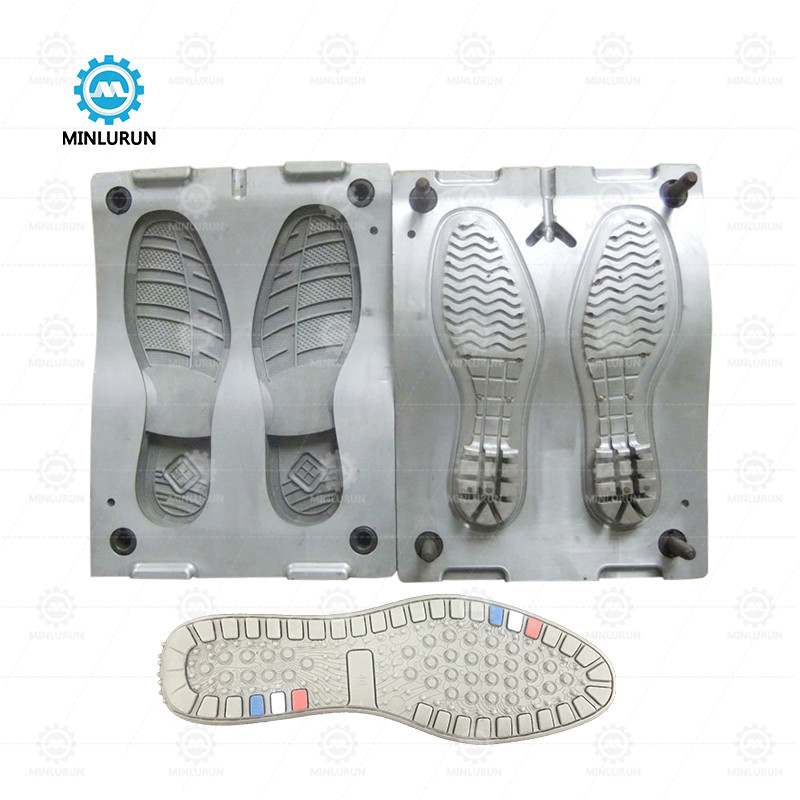 Eva Tpr Sneaker Injection Sole Mold Men's Leather Soless Shoe Outsole Mould For Italian Machine Working