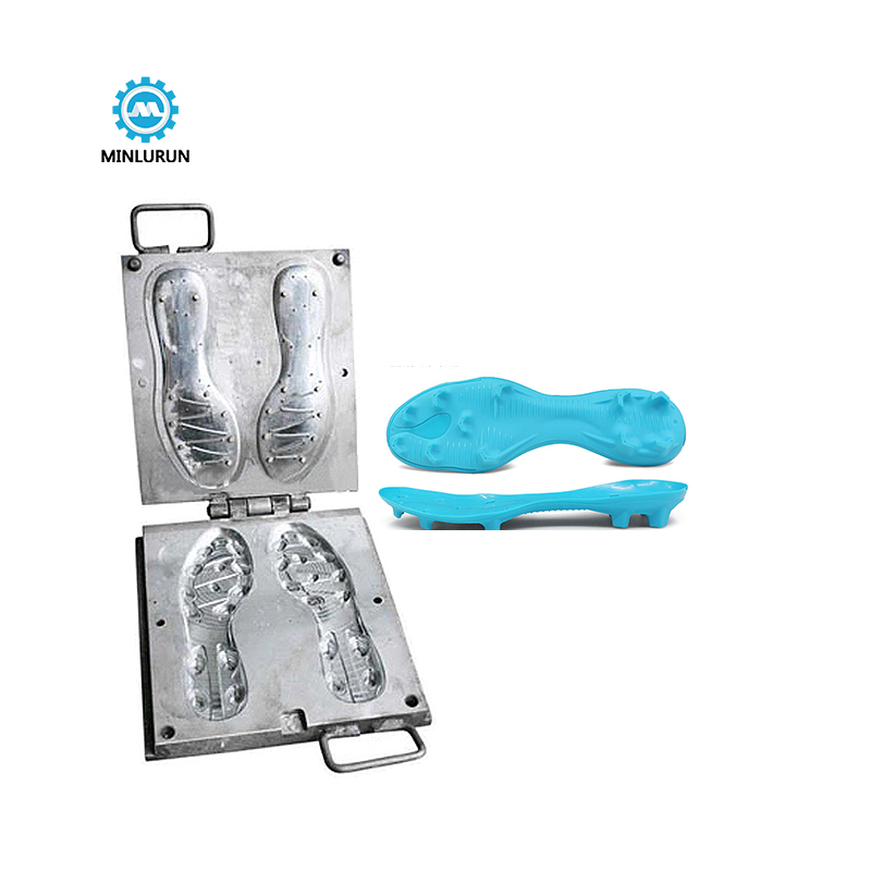 Minlulun Tpu Injection Selling Cheap Custom Newest Design Tpu Injection Mold For Making Football Shoe Sole