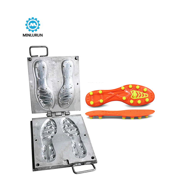 Molds For Shoe Soles Made Of Aluminium For Make Tpu Injection Mold    Material Shoe Outsole