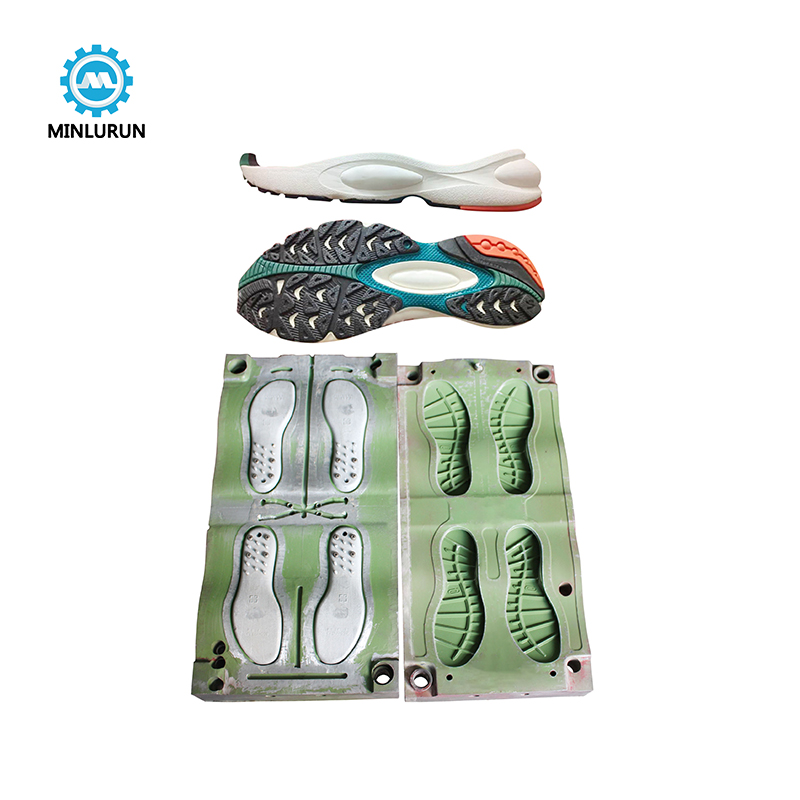 Eva Foam Outsole TPR PVC Injection Mold Sport Shoes Mould For Environmentally Friendly Soles