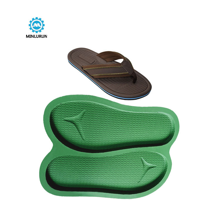 Slipper Embossing Insole Mold Aluminium  Mould Of Sole For Summer Shoes