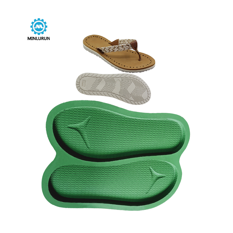 Slipper Embossing Insole Mold One Time Eva Foaming Outsole Mould For Summer Shoes