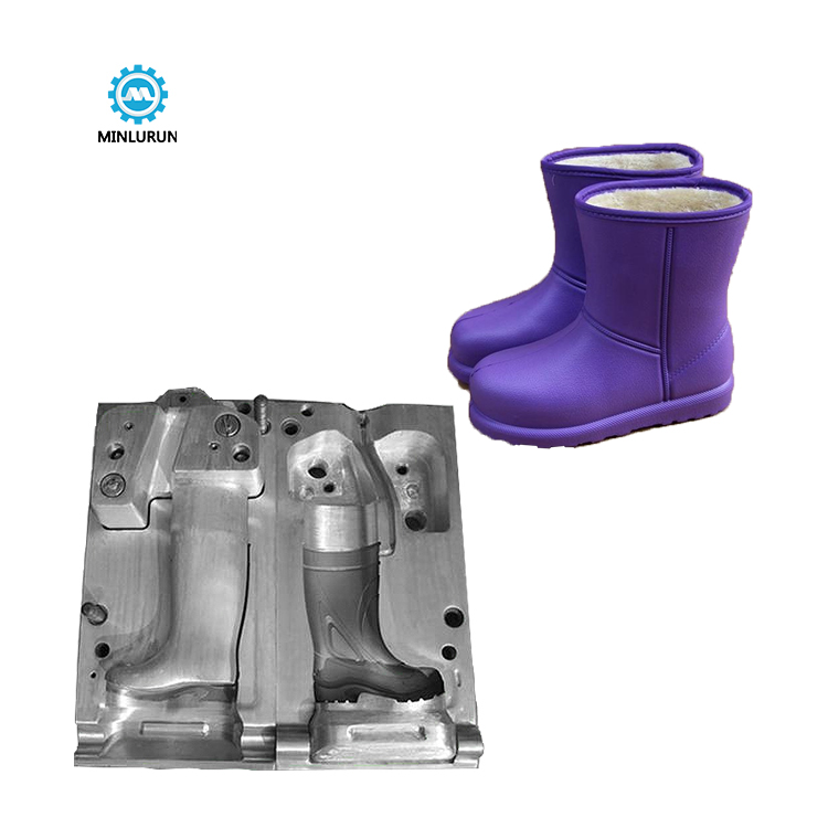 EVA Aluminum Rain Boots CNC Shoe Mould Shoes Mold Boot Die Maker