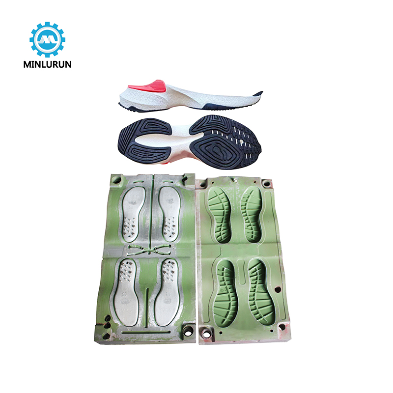 EVA Foam Shoe Sole Mould Maker Outsole Injection Mold For TPR No Slip Soles