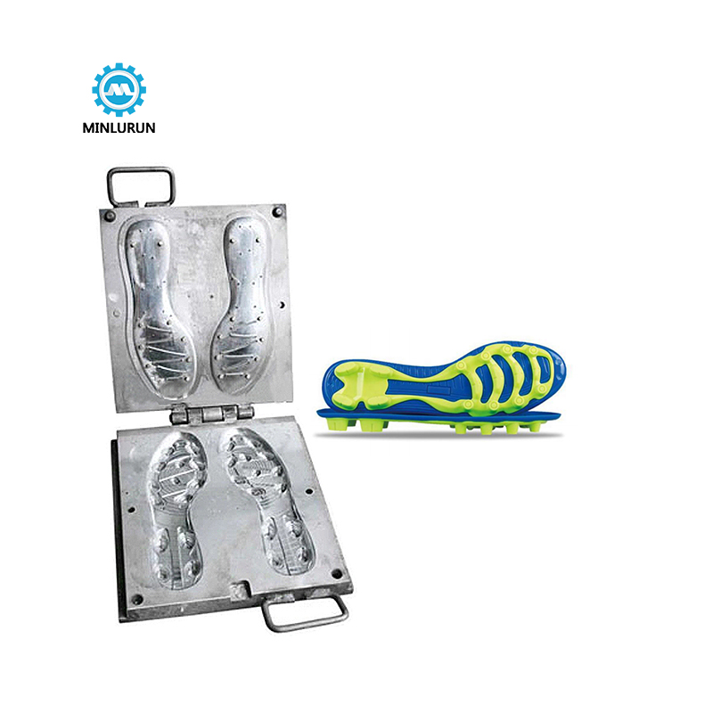Footwear Tpu Injection Mold For Making Bottom Football Sports Shoes Outsole Shoe Sole
