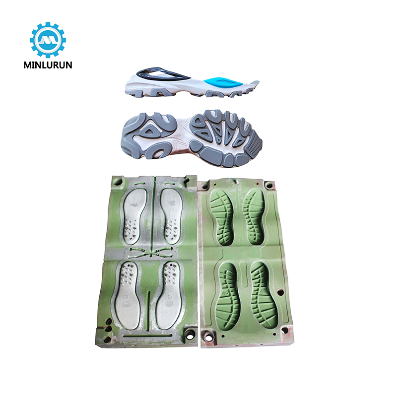 China Manufacturer Tpr Shoe Mold Soles Injection Molds Eva Outsole Mould For Sneaker outsoles Making
