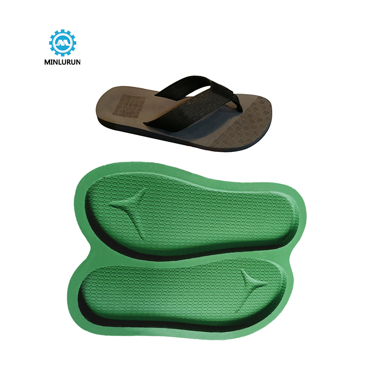 Slipper Embossing Insole Mold Double Cavity Shoe Sole Mould For Summer Shoes