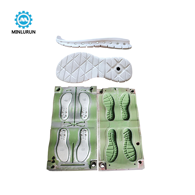 Hot And Cold EVA Sole Mould With EVA Foaming Sport Outsole Injection Mold