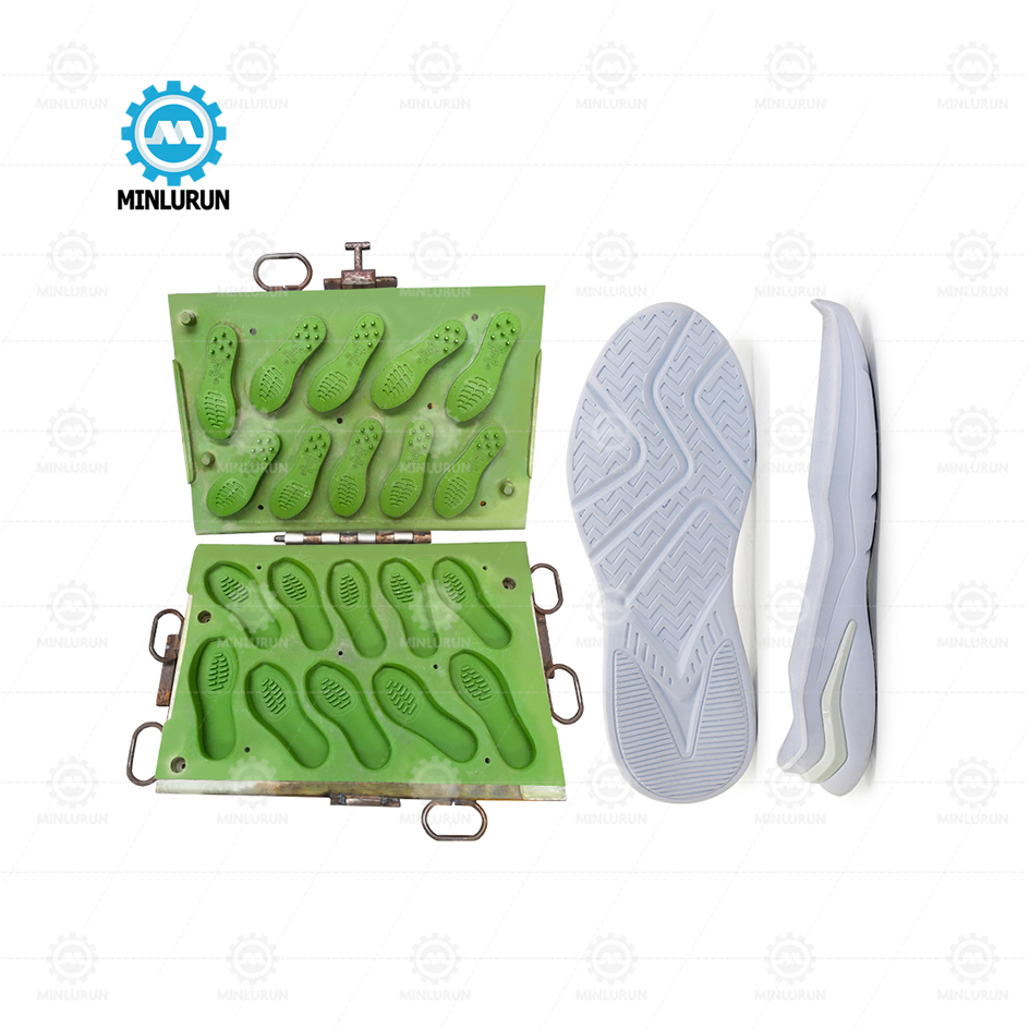 EVA hot and cold sole mould Famous Brand Pink Eva Sole Mould For Italian Machine sport sandal outsole making
