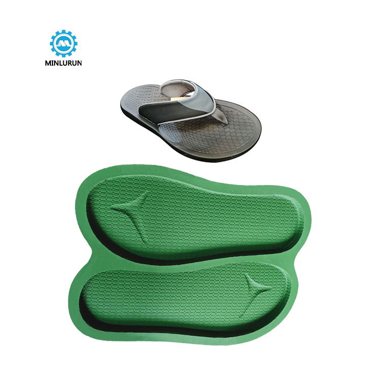 Slipper Embossing Insole Mold 1 Mould 2 Pairs Sole For Summer Shoes
