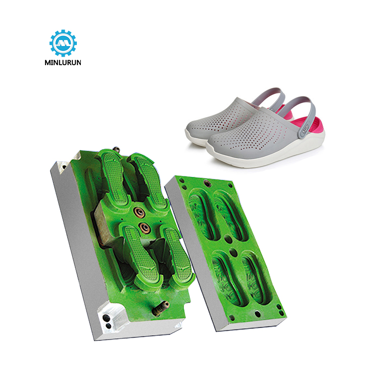 Plastic Foam Eva Injection Molding Garden Shoe Mold Ladies Slipper Mould