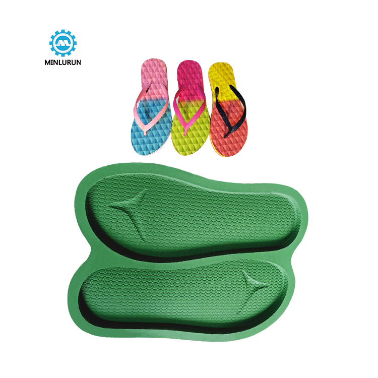 Slipper Embossing Insole Mold Aluminum Sole For Summer Shoes