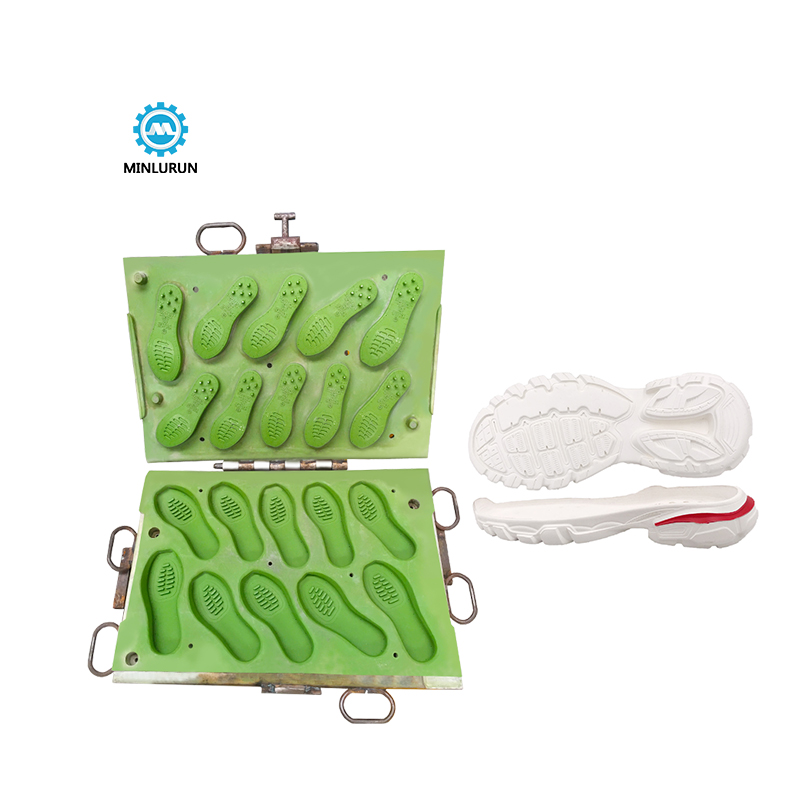 Latest Hight Quality Hot Press Comfort Running Eva Shoe Sole Mold Double Color Rubber Outdoor Soles Molds