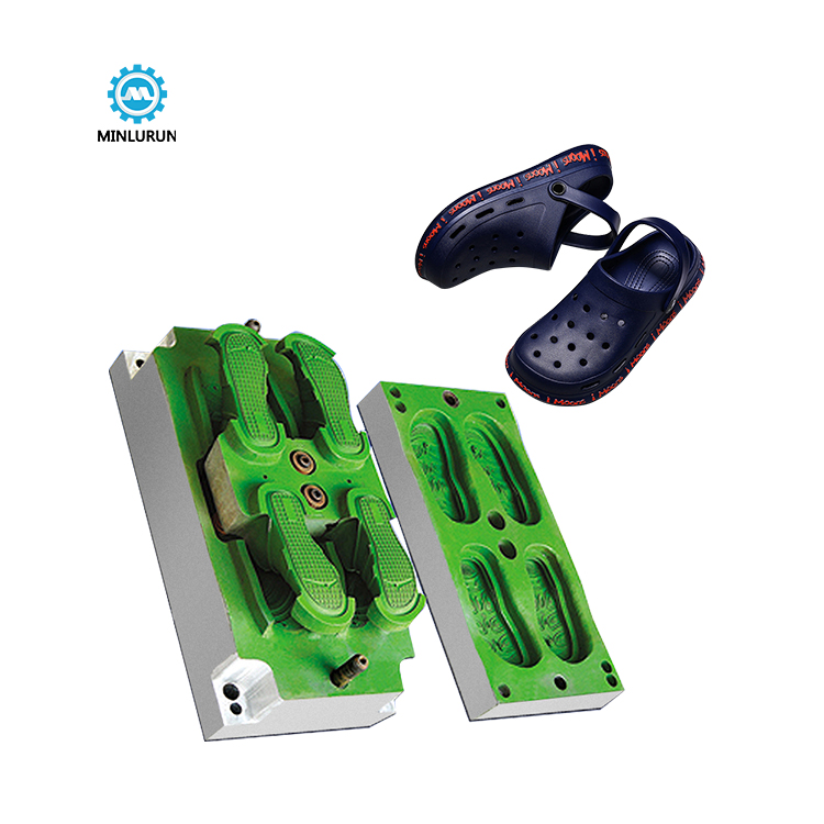 1 Mould 2 Pairs Sandal Shoe Mold For Garden Eva Injection Die Cnc Moulds