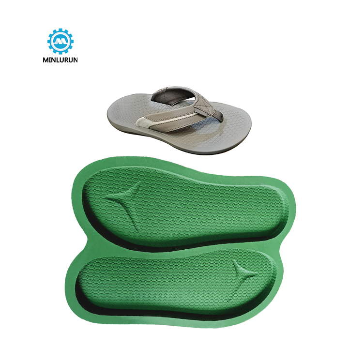 Slipper Embossing Insole Mold Aluminum Sole Moulding For Summer Shoes