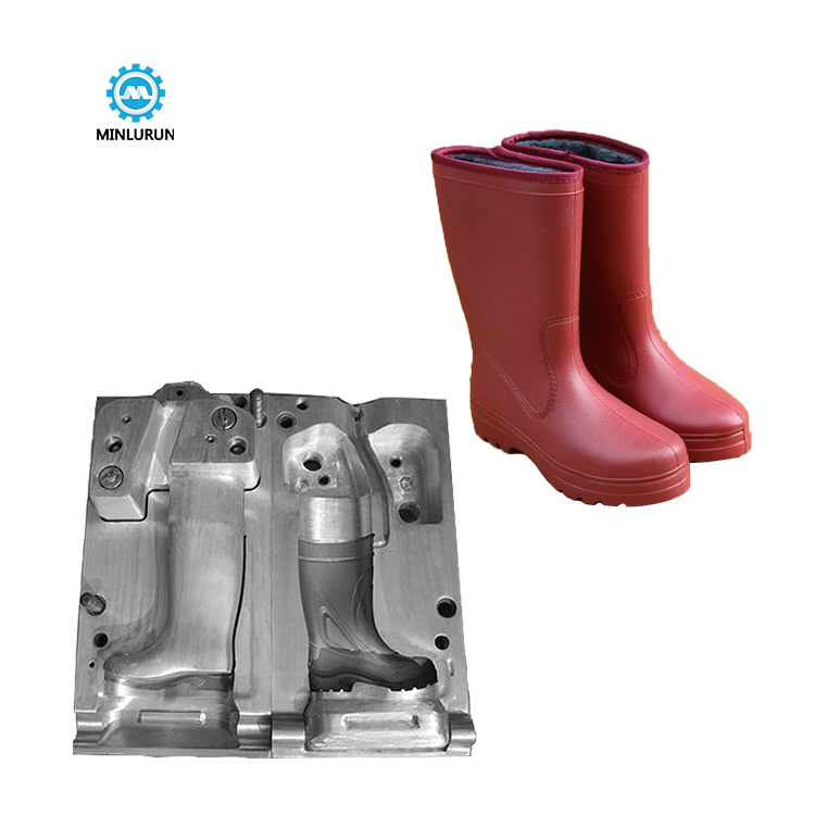 Russia Style EVA Rain Boot Shoe Making Mold Used Injection Shoes Molds