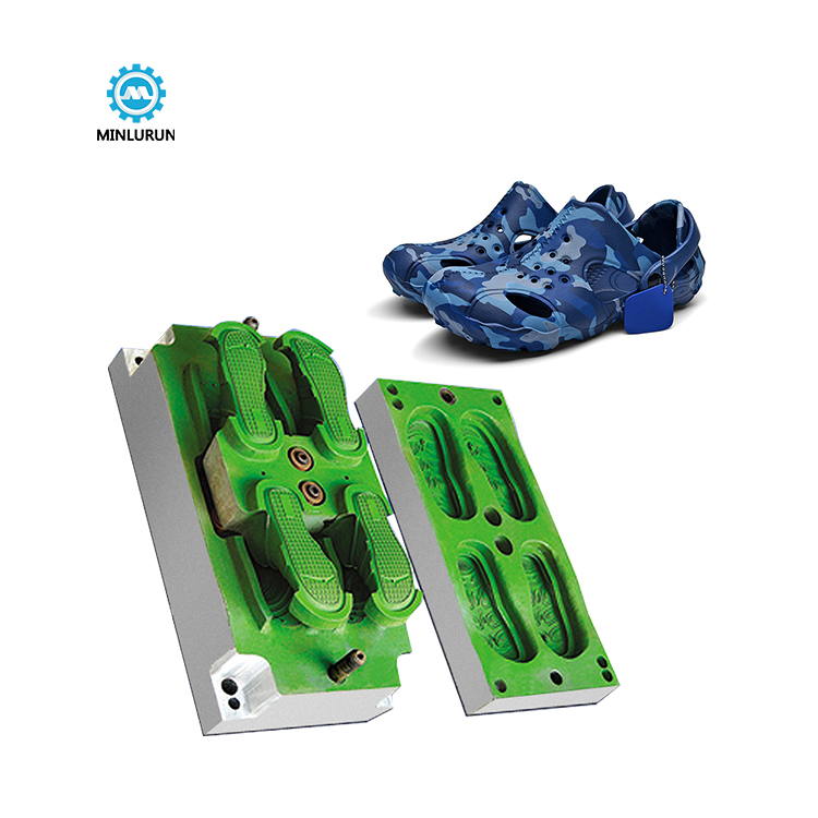Yingrun Aluminium Shoe Eva Garden Shoes Mould Making Injection Plastic Ladies Sandals Mold
