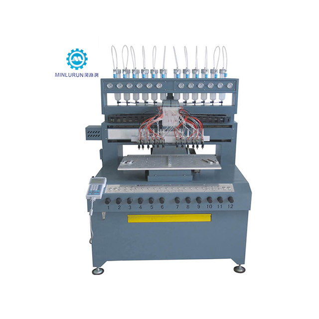 Automatic PVC Dispenser Rubber Patch Sticker Label Making Dispensing Machine